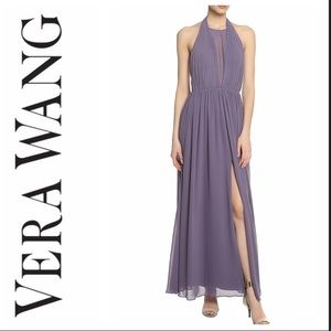 Vera Wang Chiffon Dress